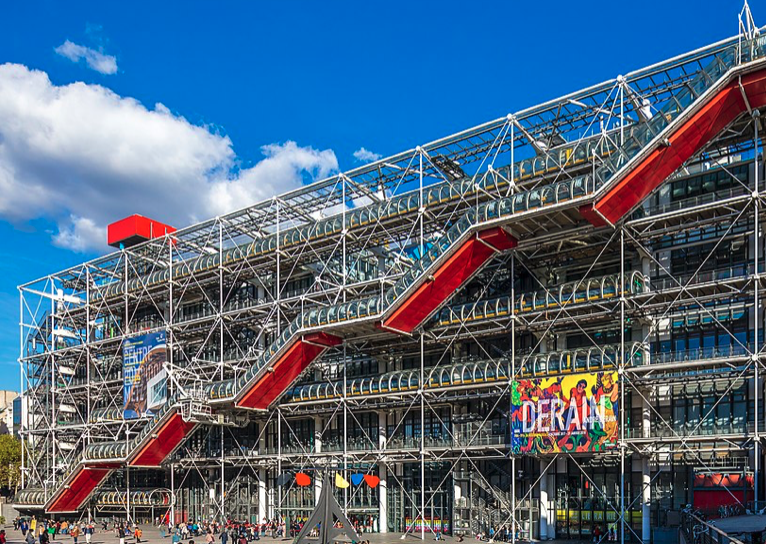 Contemporary Art in Beaubourg